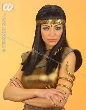 BRACCIALI SERPENTE DA EGIZIANA 2 PEZZI Carnevale Faraone Bigiotteria 115 3297Y