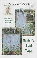 Quilter's Tool Tote Pattern, DIY by Barb Schultz & Marilyn Higgins