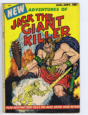 New Adventures of Jack the Giant Killer #1 Bimfort 1953