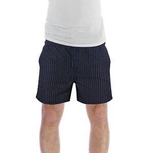 Mens Swim Shorts Brave Soul Drake Geo Print Swimming Summer Trunks