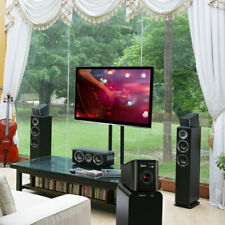 More details for wharfedale d300 3d black surround speakers (pair)