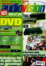 Film-Zeitschrift # Home Entertainment # AudioVision # Heft 01/1999 # Jan.-Feb.
