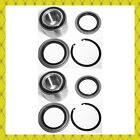 Front Wheel Hub Bearing Seal Wsnap Ring For 2000-2006 Toyota Tundra Pair