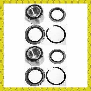 FRONT WHEEL HUB BEARING & SEAL W/SNAP RING FOR 2000-2006  TOYOTA TUNDRA  PAIR