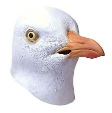 Erwachsene Ganzer Kopf Rubber Möwe Strand Vogel Kostüm Halloween Maske