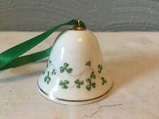 New listing Handmade Galway Fine Bone China Royal Tara Mini Bell Trellis Shamrock