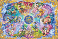 Disney Collection Stained Art Constellations 1000 Piece Jigsaw Puzzle Tenyo