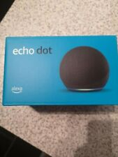 All-new Amazon Echo Dot (4th Gen) Smart Speaker with Alexa - Charcoal - SEALED