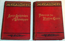 1891 Alice's Adventures In Wonderland & Through The Looking Glass  Lewis Carroll