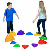 Balance Stepping Stones for Kids Educational River Stones Game 6/9/11-Pieces Set
