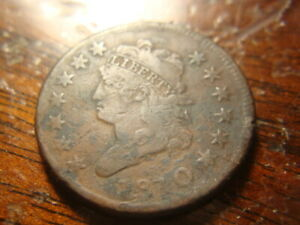 1810 F VF Details Classic Head Large Cent  UPX