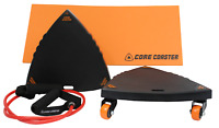 Core Coaster - Ab, Core and Total Body Exercise Sliders / Carver Workout