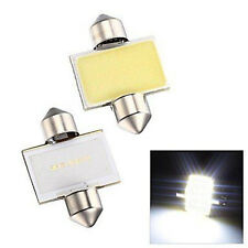 2pcs Practical 31mm 12smd COB LED DE3175 White Bulbs For Car Interior Dome Light