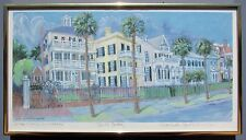 South Battery Charleston, SC Print - Detta Cutting Zimmerman- Signed Edition