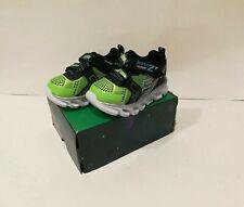 Skechers Baby Infant Boys S Light Hydro Flash Sneaker Shoes Lime Black Size 5