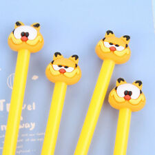 6Pcs Lovely Cute Cartoon Garfield Cat Gel ink Pens Office School Stationery Gift