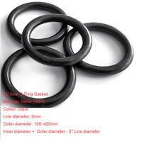 OD=15~100mm Ø5mm NBR Nitrile O-Ring Gasket Seals Rubber Oil Sealing Washers
