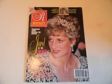 "ROYALTY MONTHLY VOL 11 NO 6 MARCH 1992 PRINCESS DIANA ""JEWEL IN THE CROWN"""