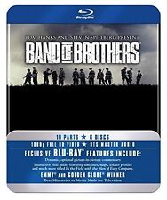 Band Of Brothers (Blu-ray, 2010, 6-Disc Set, Box Set) New & Sealed