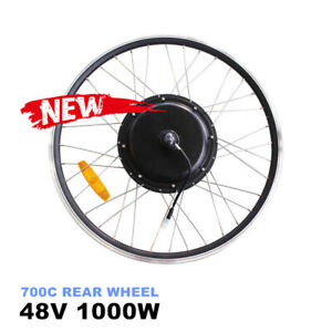 "29"" 700C Electric Bike Rear Wheel Motor for 1000W 48V Motor eBike E-Bicycle"