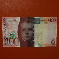 More details for 2014 bank of scotland £100 note ab 622452circulated.