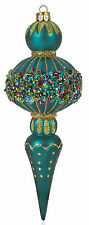 Christmas Ornament 137mm Peacock Assorted Styles 2 Count
