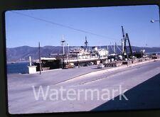 1963  Kodachrome photo slide Ship Korrigan in Mexico