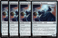 4x Rampaging Monument  -NM- MTG Guilds of Ravnica Artifact Uncommon