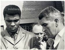 Muhammad Ali & Angelo Dundee, Original-vintage Photo from 1966
