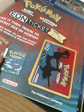 Two Nintendo Power #173 Magazines w/ 1 Pokemon Eon Ticket for GB/GBA E-reader