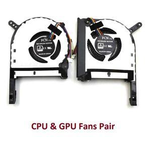 Asus TUF Gaming FX86FE FX86SM FX505 FX705 FX505GE FX505GM CPU & GPU Fan Pair Set