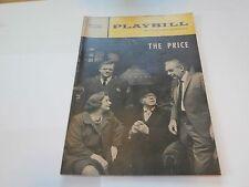 Playbill Program The Price Morosco Theatre 1968 Pat Hingle and Kate Reid