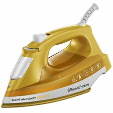 Russell Hobbs 24800 Light & Easy Bright Steam Iron Ceramic Soleplate 2400W Mango