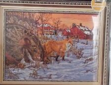 Bucilla Heirloom Collection Counted Cross Stitch Kit Fox The Hiding Place