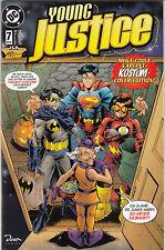 JLA SPECIAL # 7 VARIANT - YOUNG JUSTICE / ROBIN / SUPERBOY - DINO VERLAG 1998