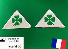 X2 Stickers Alfa Roméo Trèfle quadrifoglio verde auto gt, brera, 147,159,