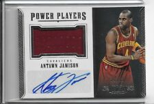 ANTAWN JAMISON 2017-18 DOMINION POWER PLAYERS PATCH AUTO #/49 CAVALIERS