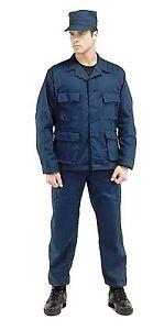 Rothco 8885 Navy Blue Camo BDU Shirt