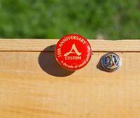 10th Anniversary A Custom A Decade of Sound Perfection Metal Enamel Pin Pinback
