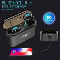 Bluetooth Drahtlose Kopfhörer Kabellos Musik Q32 TWS Universal für Apple Android