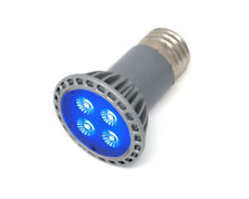 UV LED Spot Light Bulb - 4 Watts UV LED - PAR16 E26 Screw - 30 Degree Spot Lens