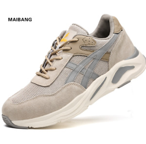 NEW Safety Shoes Mens Work Shoes Steel Cap Easy Go Protection Shoes