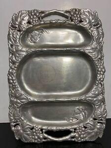 ARTHUR COURT Aluminum Party Platter Serving Tray