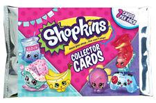 SHOPKINS Season Series 5 & 6 Collector Trading Cards 10 x Packs Random from Box