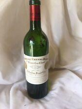 More details for chateau cheval blanc 2000 bottle - rare collectible empty bottle - no cork