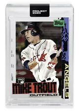 Topps PROJECT 2020 #85 2011 Mike Trout RC by Jacob Rochester ANGELS W/BOX