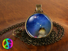 Fireflies in a Jar Handmade Handmade Fashion Necklace Pendant Jewelry Art Gift