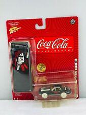 Johnny Lightning Coca Cola 1967 Chevrolet Corvette 427 Roadster WHITE LIGHTNING