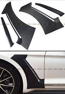 For 15-2020 Ford Mustang GT Style Front Fender Side Panel Door Scoops Vent Flare
