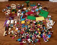Bulk Lot of Loose 2+pounds LEGO Friends Bricks Pieces and Parts